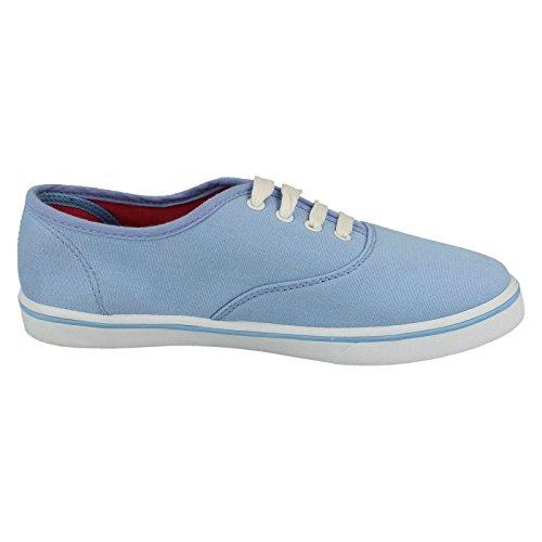 Spot On , Sandales Compensées femme Bleu - Lt.Blue