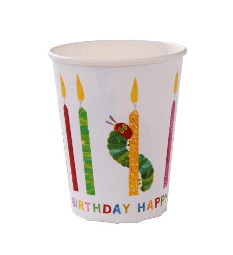 Talking Tables Die kleine Raupe Nimmersatt Happy Birthday Cup, 8Stück