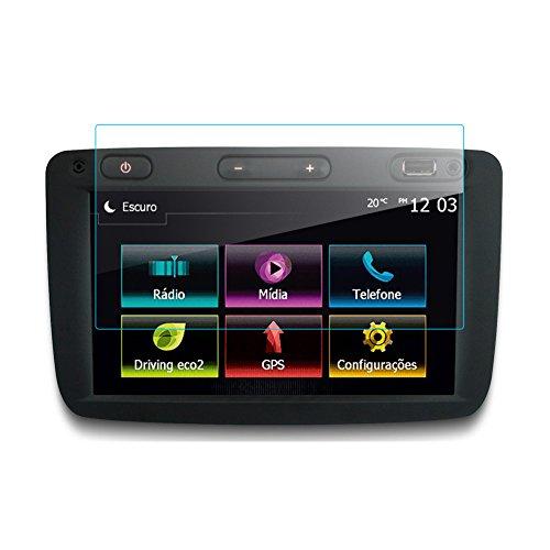 LFOTPP Dacia Sandero 7 Zoll Navigation Schutzfolie - 9H Kratzfest Anti-Fingerprint Panzerglas Displayschutzfolie GPS Navi Folie