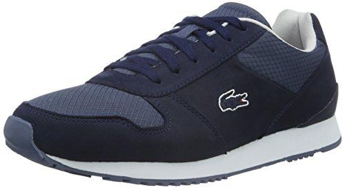 Lacoste L!ve, Trajet, Sneakers da Uomo, Blu (nvy/dk Blu), 39.5