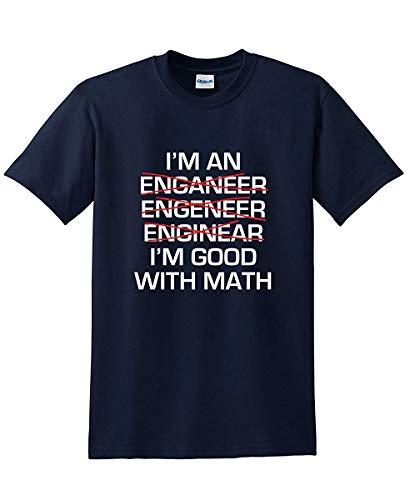 Ich Bin EIN Ingenieur-Geschenk-Mathe-Genie-sarkastisches Cooles Neuheits-kräftiges lustiges T-Shirt -