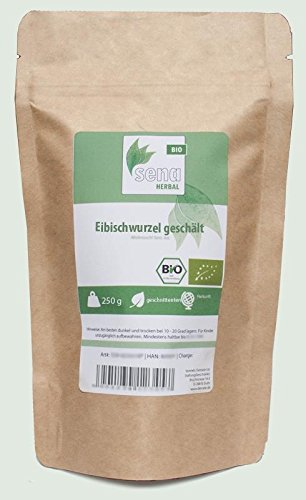 SENA-Herbal Bio - geschnittene Eibischwurzel geschält- (250g)