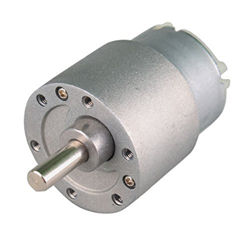 YENISEI 37mm 12V 15RPM Motor Eléctrico de Caja DC con Torque para Bricolaje