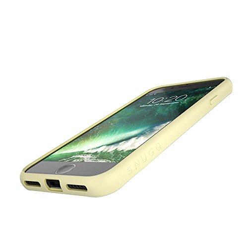 Cover iPhone 7 and 8, Snugg Apple iPhone 7 and 8 Custodia Case [Fondello Trasparente] TPU Ultra-Slim Pelle – Verde, Vision Range Grey