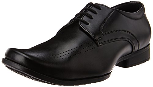 Bata Men's Leo Black Formal Shoes - 7 UK (8216666)