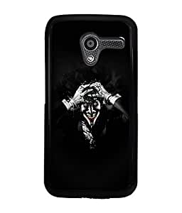 Fuson 2D Printed Ghost Designer back case cover for Motorola Moto X - D4449