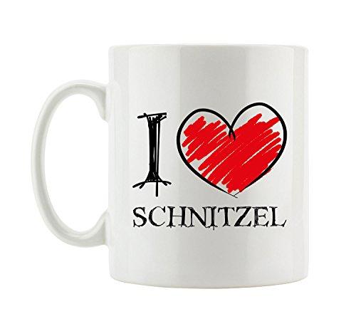I love Schnitzel Fun Tasse