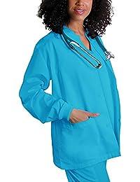 Adar Uniforms Abrigo Laboral Médico Para Mujeres, Enfermeras y Doctoras
