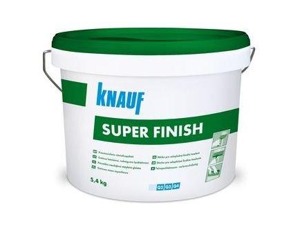 Knauf Super Finish–Sheet Rock–Masilla de pasta para acabados de uniones, lista para usar, 6 kg-