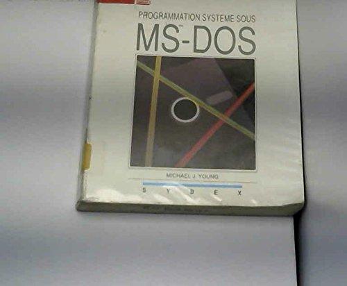 Programmation système sous ms-dos
