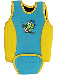 Traje de Baño para Bebés Chaleco de Natación Wrap Wetsuit Toddler Aprende a  Nadar ... ac8907000dd