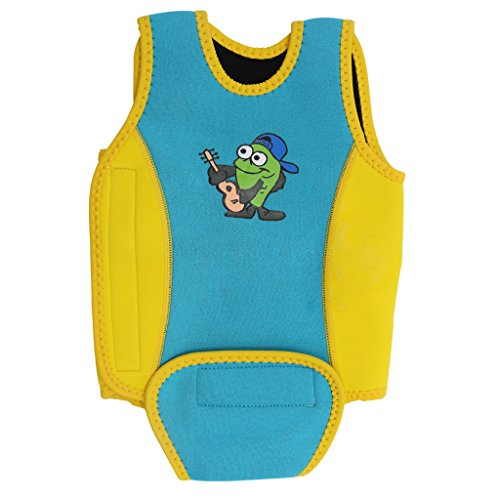 Babybadebekleidung Kids Swim Weste Wrap Neoprenanzug Kleinkind Learn-to-Swim One-Piece