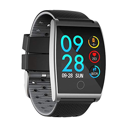 FOONEE Smart, Smart Watch, fitness Activity Tracker orologio cardiofrequenzimetro, impermeabile Smart Band fitness contapassi, calorie Counter, contapassi orologio Kids donne uomini Grey