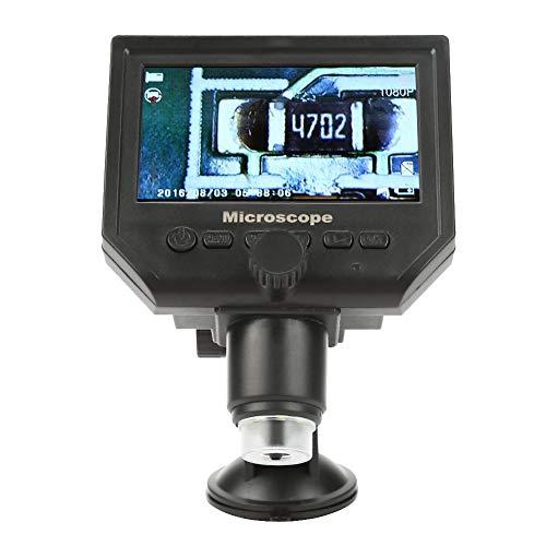"""Microscopio elettronico a microscopio, portatile Gamma da 4,3\""""G600 Lente d\'ingrandimento 1-600X 1080P LCD Digital Microscope 100-250V(EU Plug)"""