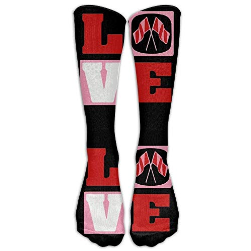 ouyjian Love Color Guard Winter Guard Casual Unisex Sock Knee Long High Socken Sport Athletic Crew Socken One Size -