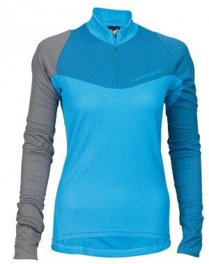 Preisvergleich Produktbild XDURO Shirt Long Women blue - Gr. XL 9505200549