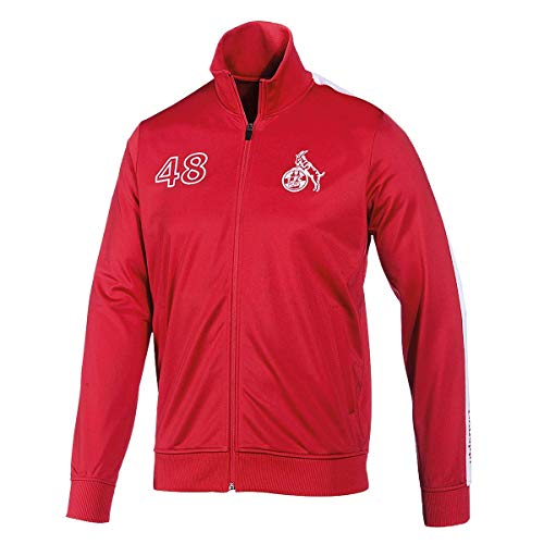 uhlsport GmbH 1.FC Köln Retro Jacket Größe L rot-weiß