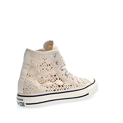 Converse Donna All Star Hi Sneakers Corder Parchemin / Marine / Aigrette