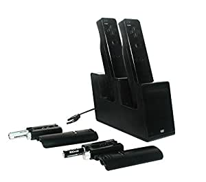 Chargeur T-charge Duo (Wii noire)