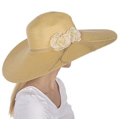 sakkas-eh5241lf-chapeau-femmes-paille-de-papier-100-a-bords-flottants-larges-upf-50-accent-fleur-nat
