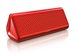 Creative Airwave HD Portable Bluetooth Wireless NFC Speaker with Built-in Microphone and Aux-in - Red