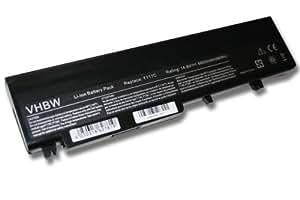 Batterie LI-ION 6600mAh 14.8V noire pour DELL Vostro 1710, 1720 remplace T117C, P721C, P722C, 312-0740, 312-0894, 451-10611, T118C etc.