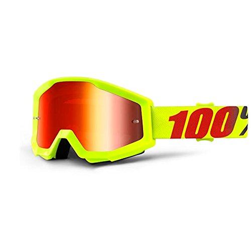 Desconocido 100% Strata - Gafas Enduro - Amarillo