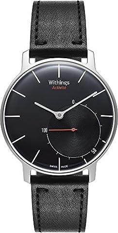 Withings Activité Sapphire - Montre connectée avec Mesure d'Activité et de Sommeil - fabriquée en Suisse -