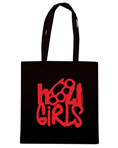 T-Shirtshock - Borsa Shopping TUM0120 ULTRAS GIRLS Nero