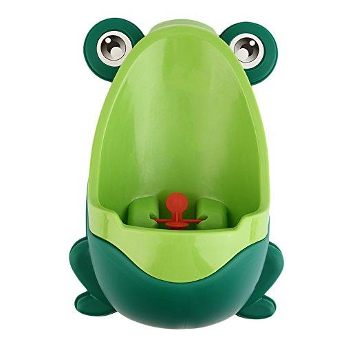 Urinal für Jungen in Froschform, Toilettentraining, Kinder, Töpfchen-Trainer grün