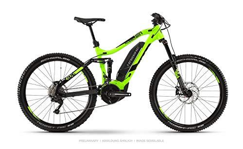 Haibike 2019 Sduro FullSeven LT 4.0 - Bicicleta eléctrica (27,5\'\'), Color Verde y Negro, Color Grün/Schwarz/Grau, tamaño Medium, tamaño de Cuadro 44.00, tamaño de Rueda 27.50
