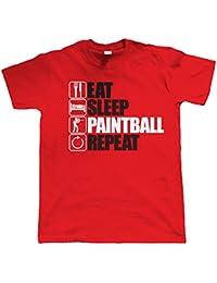 Vectorbomb, Keep Bees Paintball Répéter, Hommes Extreme Sport T Shirt (Du S au 5XL)
