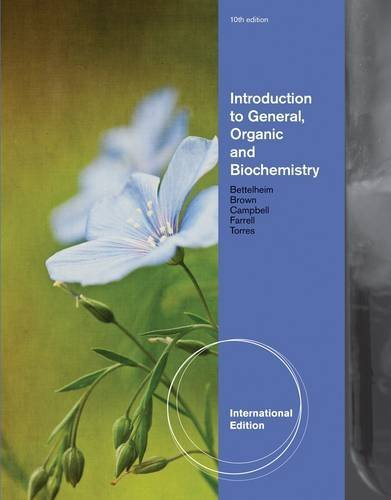 Introduction to General, Organic and Biochemistry by Shawn O. Farrell (2011-12-15)