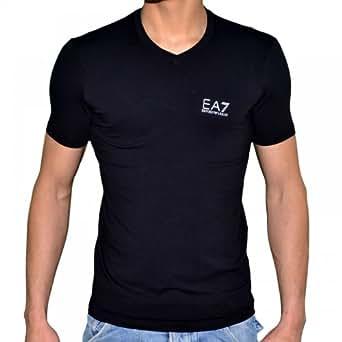Ea7 Emporio Armani - Tee Shirt Manches Courtes - Homme - 273800 Col V - Noir - XXL