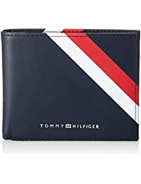 Tommy Hilfiger Bold Corporate Mini Cc Wallet, Porte-cartes de crédit homme, Bleu (Corporate), 2 x 8.7 x 11 cm (B x H x T)