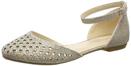 Spot on Damen F80140 Ballerinas Gold (Rose Gold)