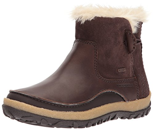 Merrell Women's Tremblant Pull on Polar Waterproof High Rise Hiking Boots, Brown (Espresso), 5 UK 38 EU