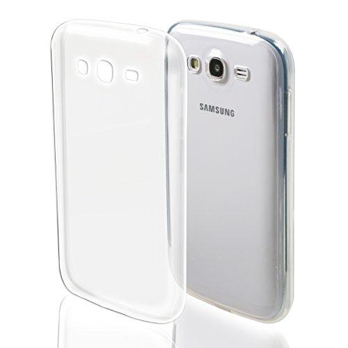 kwmobile Cover per Samsung Galaxy Grand Neo/Duos - Custodia Rigida Trasparente per Cellulare - Back Case Cristallo in plastica Trasparente