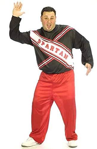 (Plus Size Spartan Cheerleader Fancy dress costume Plus)