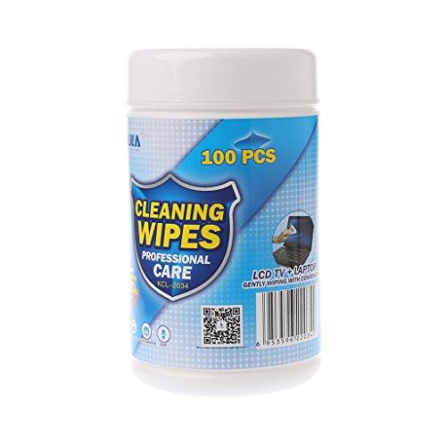 ZOOMY 100Pieces / Lot Reinigungstücher für Computer LCD TV Handy Screen Camera Lens