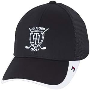 Tommy Hilfiger Casquette de golf pour homme Keegan Tech Noir Taille unique