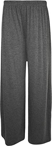Extras Fashion -  Pantaloni  - flare - Donna Charcoal