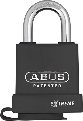 ABUS 83Wp/63Vorhängeschloss Gehärteter Stahl mit Zylinder austauschbar und Nano Beschichtung Protect 63mm