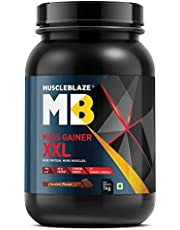 MuscleBlaze Mass Gainer XXL 2.2 lb (1 kg) Chocolate