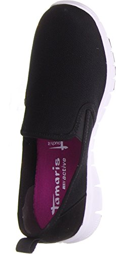 Tamaris1-1-24635-26-001 - Scarpe chiuse Donna Nero
