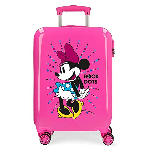 Trolley Minnie Sunny Day Disney Valigia da Viaggio CM. 55x38x20 in ABS - 3051723