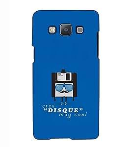 Fuson Designer Back Case Cover for Samsung Galaxy A7 (2015) :: Samsung Galaxy A7 Duos (2015) :: Samsung Galaxy A7 A700F A700Fd A700K/A700S/A700L A7000 A7009 A700H A700Yd (Eres disque muy cool)