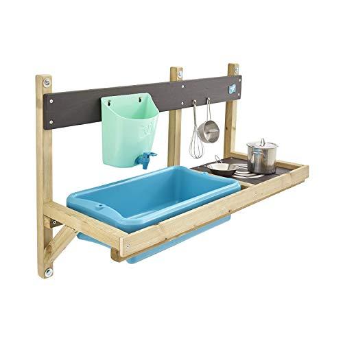 TP Toys 297 Deluxe Schlamm Küche Spielhaus Zubehör grün