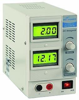 Netzgerät 0-15V 2A 2x LC-Display NG-1620BL