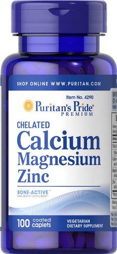 Chelated Calcium magnesium Zinc 100 Tabletten 4290 (Chelated Magnesium 100 Tabletten)